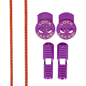 Lock Laces Run Laces, purple cactus